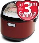 Multicooker cu presiune Oursson MP5010PSD/DC, 1100W, Dark cherry