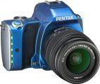 Aparat Foto D-SLR Pentax K-S1 + DA L 18-55mm (Albastru)