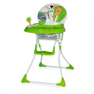 Scaun masa bebe Lorelli Clasic Jolly Green Safari 1