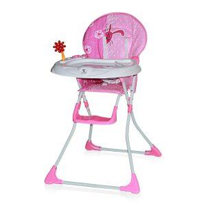 Scaun masa bebe Lorelli Clasic Jolly Pink Rabbits