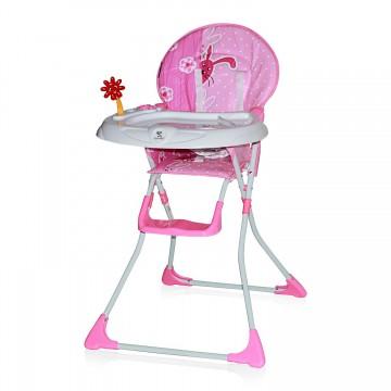 Scaun masa bebe Lorelli Clasic Jolly Pink Rabbits 1