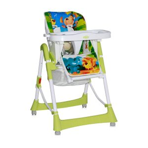 Scaun masa bebe Lorelli Clasic PRIMO Green Jungle