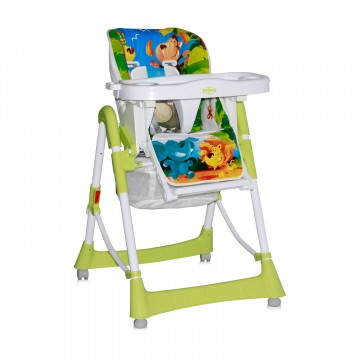 Scaun masa bebe Lorelli Clasic PRIMO Green Jungle 1