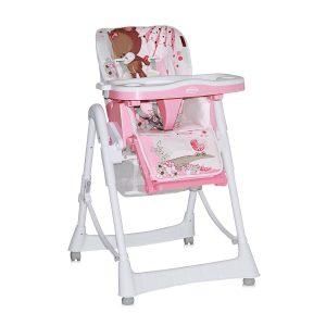 Scaun masa bebe Lorelli Clasic PRIMO Pink Bear