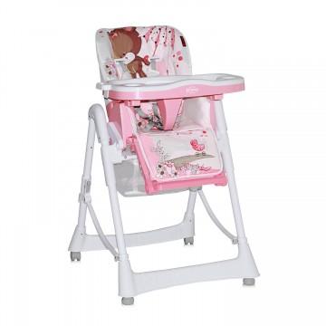 Scaun masa bebe Lorelli Clasic PRIMO Pink Bear 1