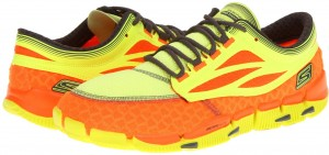 SKECHERS Performance GObionic - Prana****** Orange/Lime