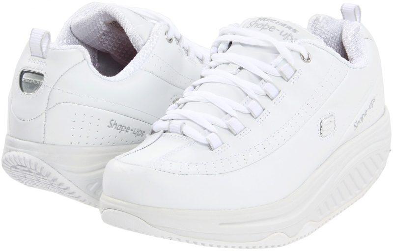 SKECHERS Work Slip Resistant Shape Ups*** White/White