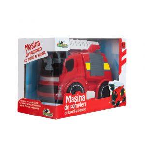Masina de pompieri cu lumini si sunete (1)
