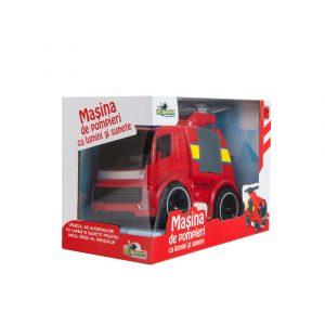 Masina de pompieri cu lumini si sunete (2)