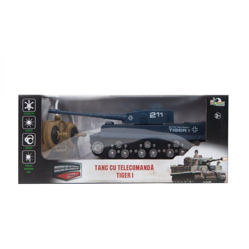 Masini de razboi - Tanc cu telecomanda Tiger 1