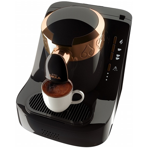 Cafetiera Arzum Okka, Putere 710W, Capacitate rezervor apa 950 ml, Negru
