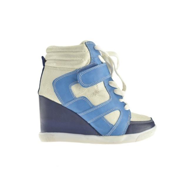 Pantofi Sport Lamin Albastri