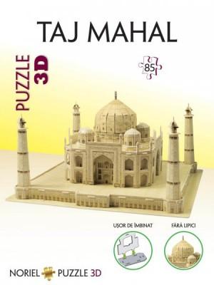 Puzzle 3D NORIEL Taj Mahal 85 piese