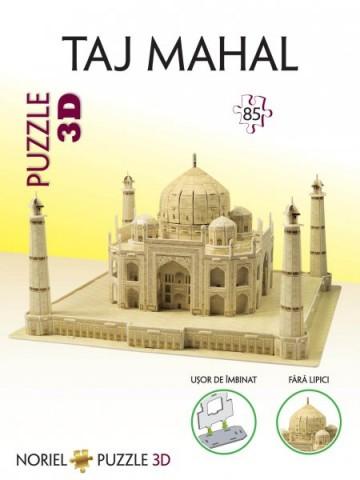 Puzzle 3D NORIEL Taj Mahal 85 piese 1
