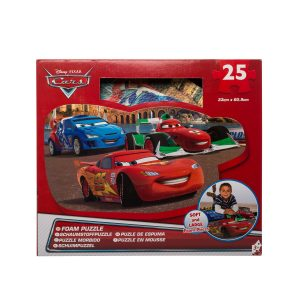 Puzzle de spuma Cars 25 piese