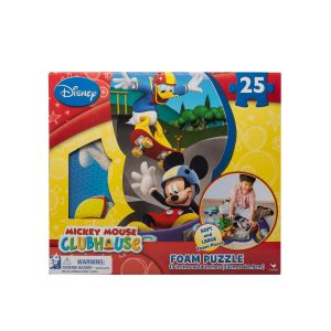 Puzzle de spuma Mickey Mouse 25 piese