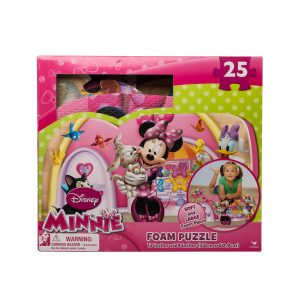 Puzzle de spuma Minnie Mouse 25 piese