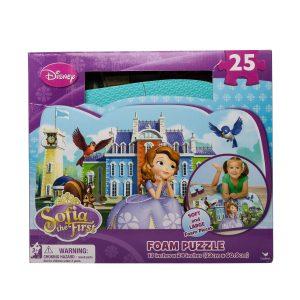 Puzzle de spuma Printesa Sofia 25 piese