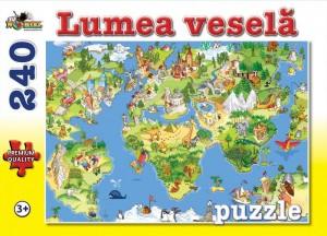 Puzzle NORIEL Lumea vesela 240 piese