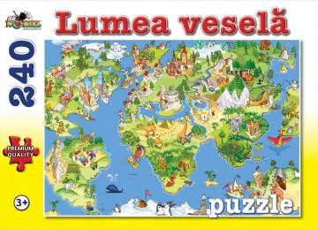 Puzzle NORIEL Lumea vesela 240 piese 1