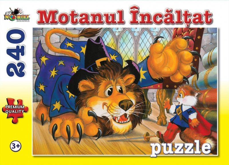 Puzzle NORIEL Motanul Incaltat 240 piese