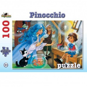 Puzzle NORIEL Pinocchio 100 piese
