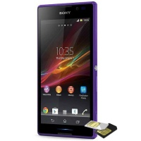 Sony Xperia C dual-sim 4GB 3G purple C2305