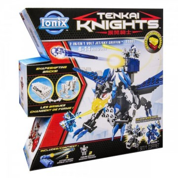 Tenkai Knights 2 in 1 – Volt Jet & Sky Griffin 1