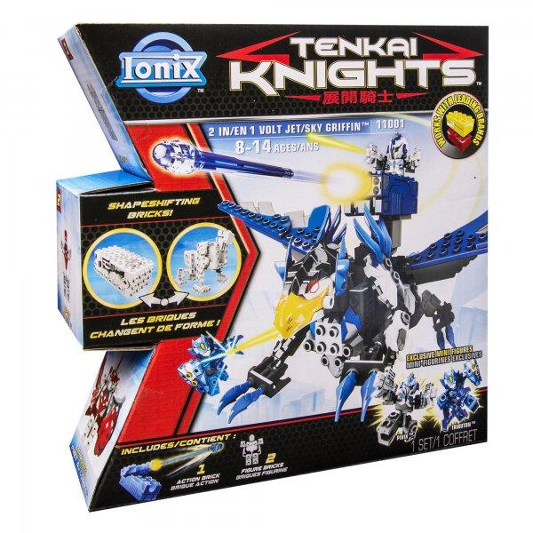 Tenkai Knights 2 in 1 - Volt Jet & Sky Griffin