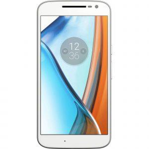 Telefon mobil Lenovo Moto G4 Play, 16 GB, 4G, Dual Sim, Alb