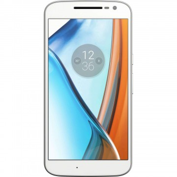 Telefon mobil Lenovo Moto G4 Play, 16 GB, 4G, Dual Sim, Alb 1