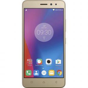 Telefon mobil Lenovo Vibe K6, 16 GB, 4G, Dual Sim, Auriu
