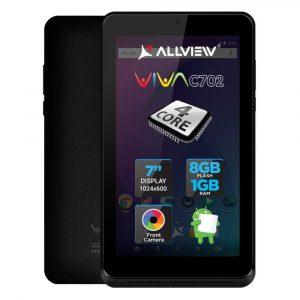 Tableta Allview Viva C702, 7?, 8GB, Quad-Core, Negru