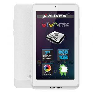 Tableta Allview Viva C702, 7?, 8GB, Quad-Core, Alb