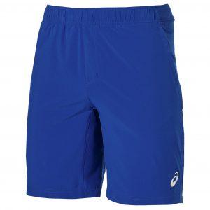 Pantaloni Scurti Tenis Barbati, Woven Short 9-inch, Albastru-Alb