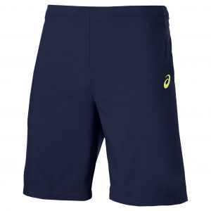 Pantaloni Scurti Tenis, Asics, Athlete 9IN, Bleumarin, Barbati