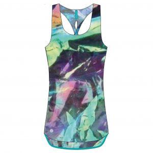 Maieu Fitness Femei, Asics, Tank Halographic, Multicolor