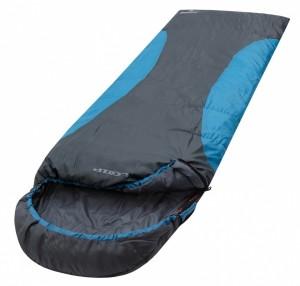 Sac de Dormit, Loap, Emmet, 220x80 cm, Negru-Albastru, Pentru Vara