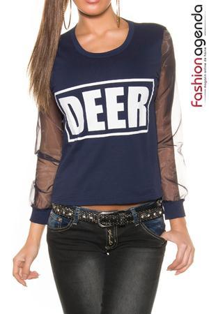 Bluza Bleumarin Deer 1