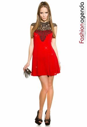 Rochie Adina Red 1