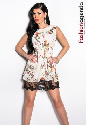 Rochie Alba Fanya 1