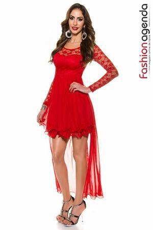 Rochie Asimetrica Yara Red