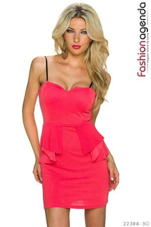 Rochie Coral Frenzy