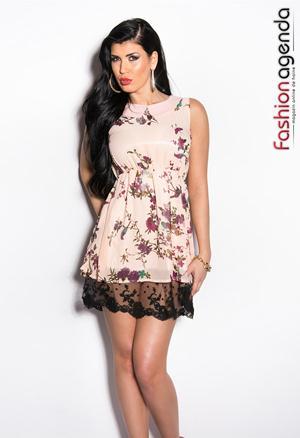 Rochie Rose Fanya 1