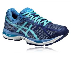 Pantofi Alergare, Asics, Gel-Cumulus 17, Cushioning, Albastru-Turcoaz, Femei