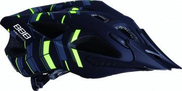 Casca Ciclism, Elbrus, BHE-34, Marime L, Negru-Galben 1