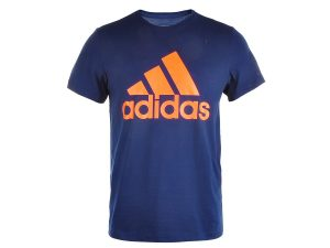 Tricou Barbati, Adidas, Sports Essentials Logo Tee, Bleumarin