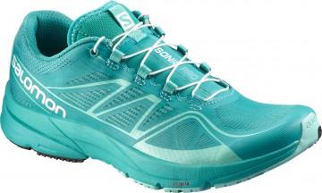 Pantofi Alergare,3D FIT, 3D RIDE, Salomon, Turcoaz 1