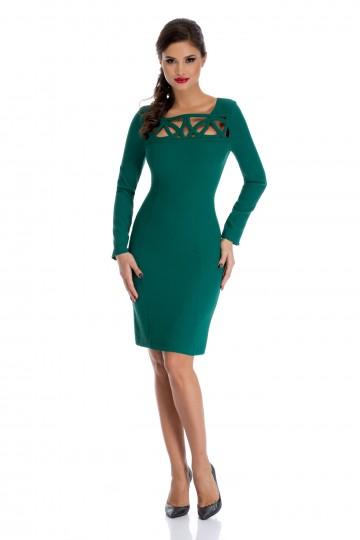 Rochie Tessa Verde 1