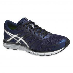 Pantofi Alergare, Asics, Gel-Zaraca 4, Natural, Albastru-Argintiu-Negru, Barbati